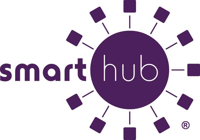 SmartHub logo - purple